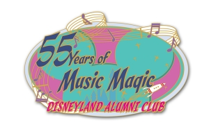 Disneyland Alumni 55th Event Pin
