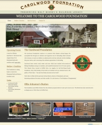 Carolwood Foundation Web Site